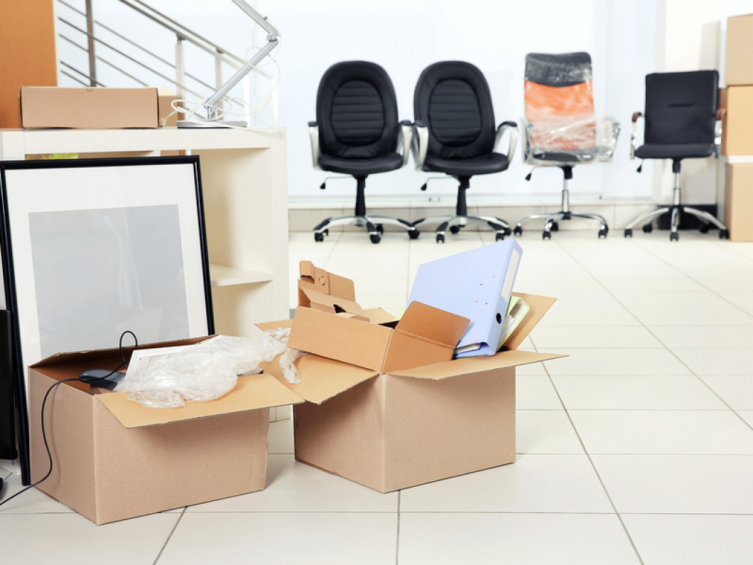 Declutter your workspace with Boston Just Helpers Moving Company